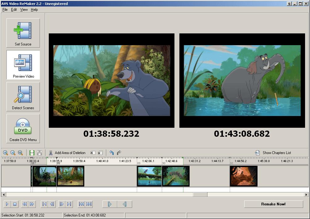 AVS Videobewerkingsoftware