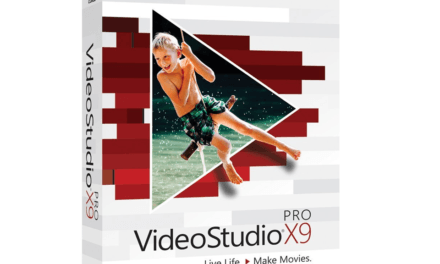 Corel Videostudio X9 Pro is uit