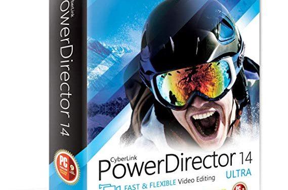 Cyberlink Powerdirector 14 is uit