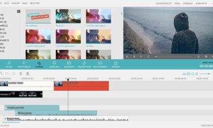 Wondershare Filmora – Video bewerken en Effecten gebruiken.