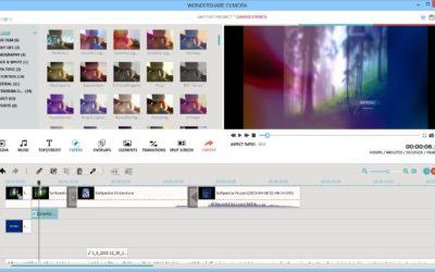Filmora Video Editor Tutorial over de basis van het programma