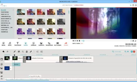 Filmora Video Editor Tutorial over de basis van het programma