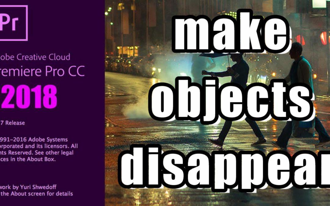 Objecten of personen laten verdwijnen in uw video