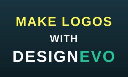 Een gratis online Logo maken met DesignEvo