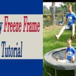 Wat is een Freeze Frame en hoe maak je dat ?