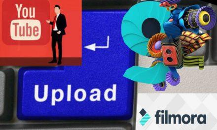 Direkt uploaden naar Youtube
