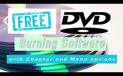 Gratis DVD's branden met hoofdstukken en menu opties ?